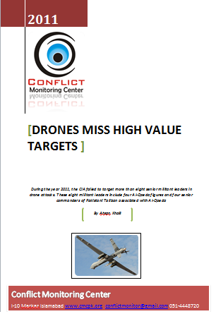 2011: Drone Attacks Remained Ineffective against Militant Leaders