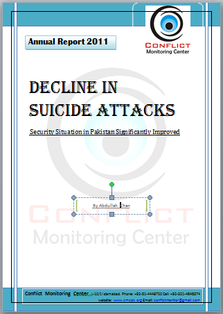 Significant Decline in Suicide Attacks in Pakistan