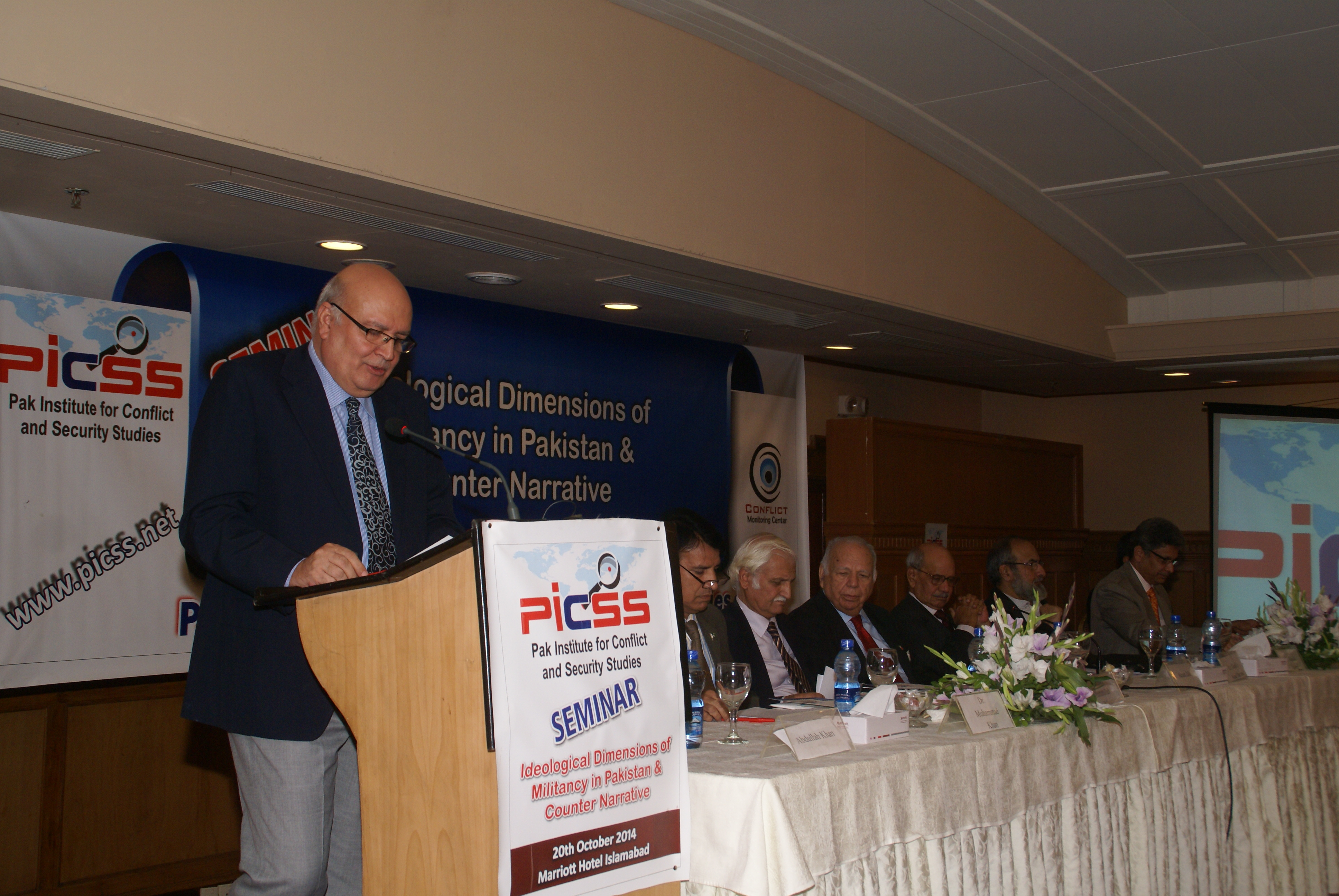 PICSS Seminar: Ideological Dimensions of Militancy in Pakistan and Counter Narrative