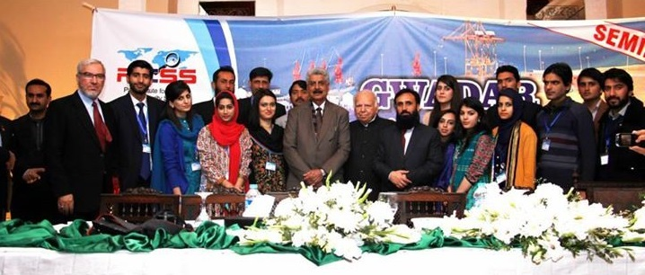 Gwadar Potential and Prospects Seminar 29th January 2015