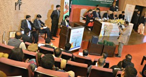 MD PICSS Abdullah Khan giving details aboiut the PICSS Militancy Database (PMD)