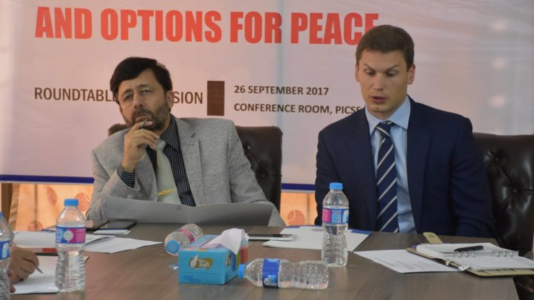 Ambiguity about US Intentions impediment in peace: PICSS Round table on Afghanistan