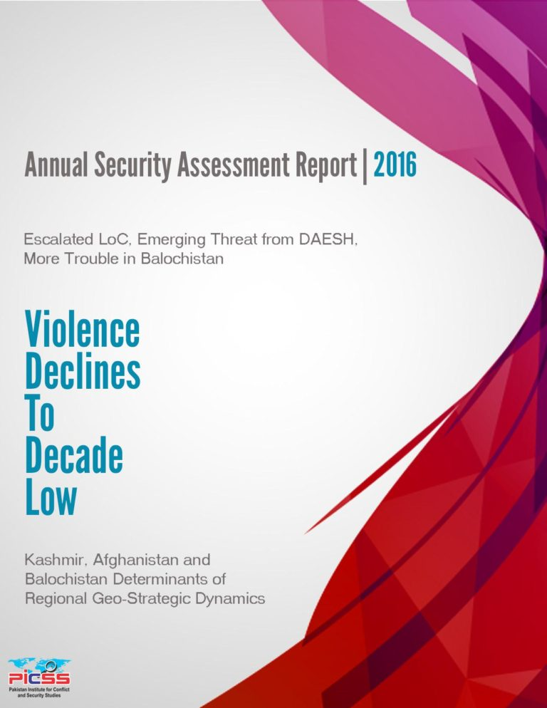 PICSS Annual Security Assessment Report 2016