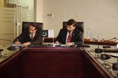 MOU Signed Between PICSS and NUST-GTTN