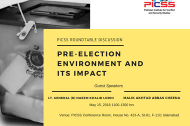 RoundTable Discussion: PRE-ELECTION ENVIRONMENT AND ITS IMPACT